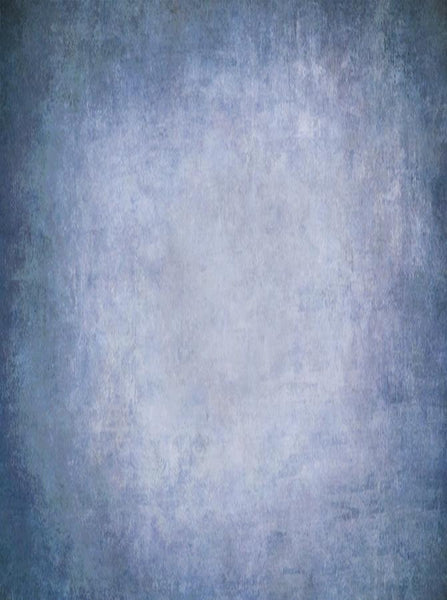 Printed Old Masters Textured Blues Backdrop - 6906