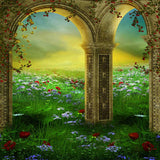 690 Architecture Fairy Arches Backdrop - Backdrop Outlet