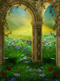 Architecture Fairy Arches Backdrop - 690 - Backdrop Outlet