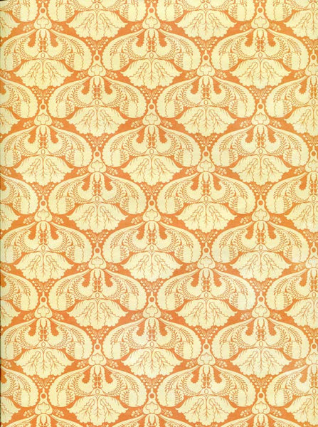 7166 Damask Gold Deco Backdrop - Backdrop Outlet