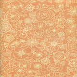 7235 Orange Delight Floral Backdrop - Backdrop Outlet