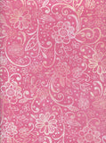 Pink Floral Backdrop - 7236 - Backdrop Outlet