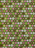 7242 Green Flowers Backdrop - Backdrop Outlet