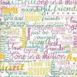 Teenage Quotes Backdrop - 7247 - Backdrop Outlet