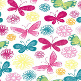 Colorful Butterfly Backdrop - 7254 - Backdrop Outlet