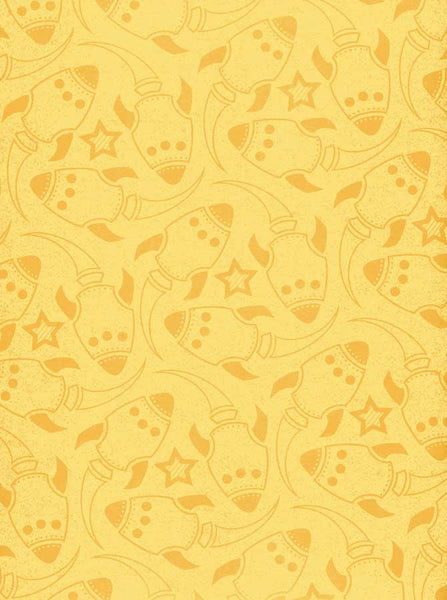 7261 Yellow Rockets Backdrop - Backdrop Outlet