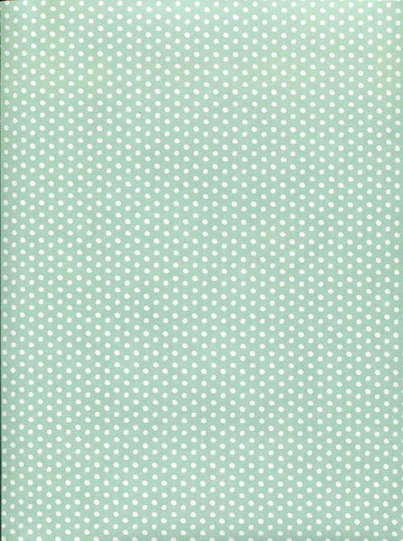 7269 Mint Green Dots Backdrop - Backdrop Outlet