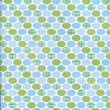 Printed Backdrop Blue Green Dots Background - 7271 - Backdrop Outlet