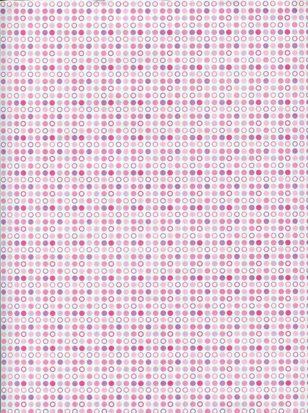 7274 Lilac Dots Backdrop - Backdrop Outlet