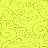 7287 Lime Green Scroll Backdrop - Backdrop Outlet