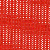 Red with White Dots Backdrop - 7298 - Backdrop Outlet