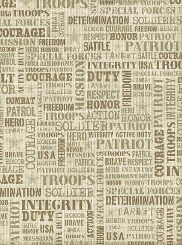 Military Backdrop - 7307 - Backdrop Outlet
