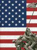 7308 Patriotic Flag Backdrop - Backdrop Outlet