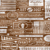 All American Wood Backdrop - 7310 - Backdrop Outlet