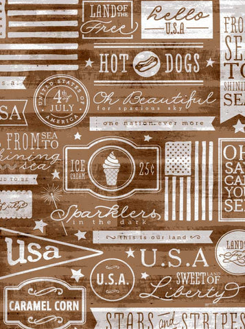 7310 All American Wood Backdrop - Backdrop Outlet