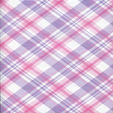 7327 Purple Plaid Backdrop - Backdrop Outlet