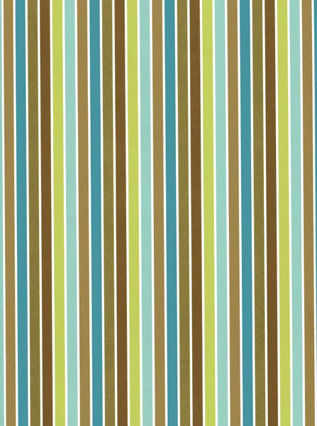 7335 Blue Green Stripe Backdrop - Backdrop Outlet