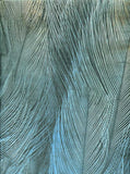7358 Peacock Feather Backdrop - Backdrop Outlet