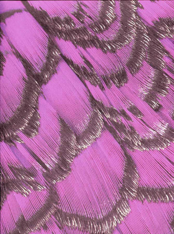 7361 Purple Feather Backdrop - Backdrop Outlet