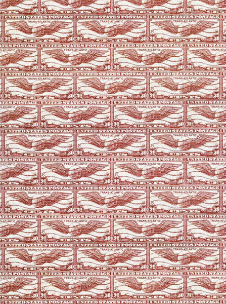 7365 Red Stamps Backdrop - Backdrop Outlet