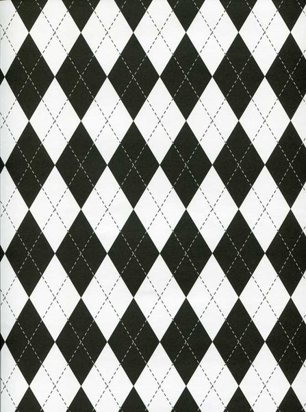 Diamond Checkered Backdrop - 7377 - Backdrop Outlet