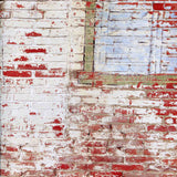 White Red Brick Backdrop - 7389 - Backdrop Outlet