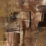738 Abstract Brown Modern - Backdrop Outlet