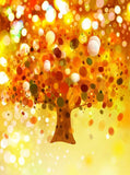 Autumn Tree Bokeh Backdrop - 7610 - Backdrop Outlet