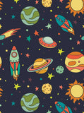 Space Planets Backdrop - 7617 - Backdrop Outlet
