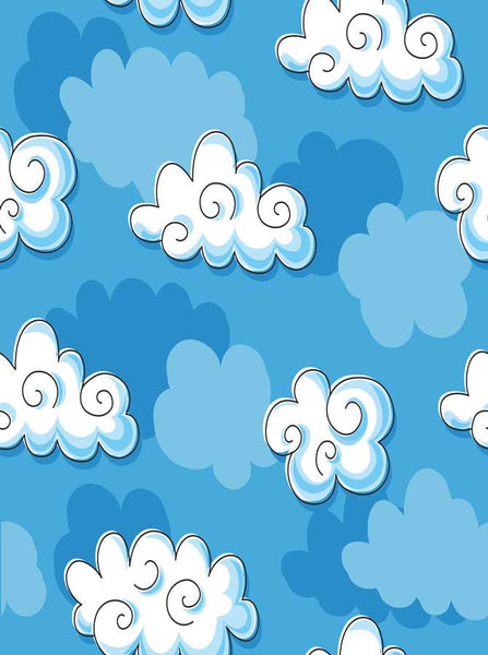 7619 Crazy Clouds Backdrop - Backdrop Outlet