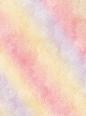 Watercolor Pastel Rainbow Backdrop - 7701 - Backdrop Outlet
