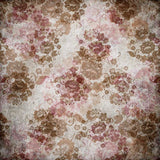 Printed Vintage Floral Backdrop - 794 - Backdrop Outlet