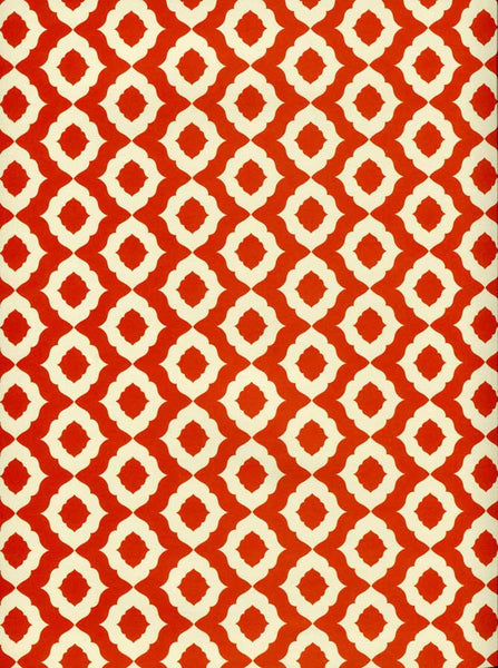 Red Pattern Backdrop - 8022 - Backdrop Outlet