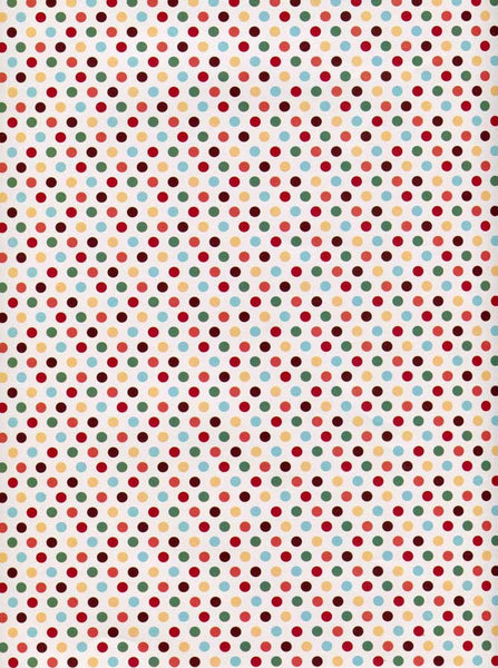 8033 Dots Backdrop - Backdrop Outlet