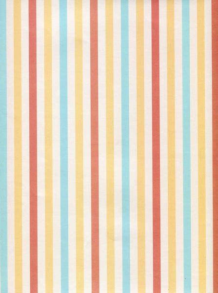 8047 Yellow Red Blue Stripe Backdrop - Backdrop Outlet