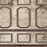 Architecture Brown Wall Moulding Damask Backdrop - 8083 - Backdrop Outlet