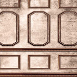 8085 Architecture Brown Wall Moulding Backdrop - Backdrop Outlet
