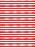 Red and White Ripples Backdrop - 8087 - Backdrop Outlet