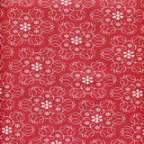 8090 Red Round Star Shape Photo Backdrop - Backdrop Outlet