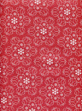 Red Round Star Shape Photo Backdrop - 8090 - Backdrop Outlet