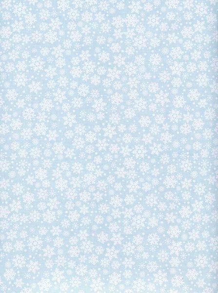 White Snowflake Patterned Photography Backdrop - 8091 - Backdrop Outlet