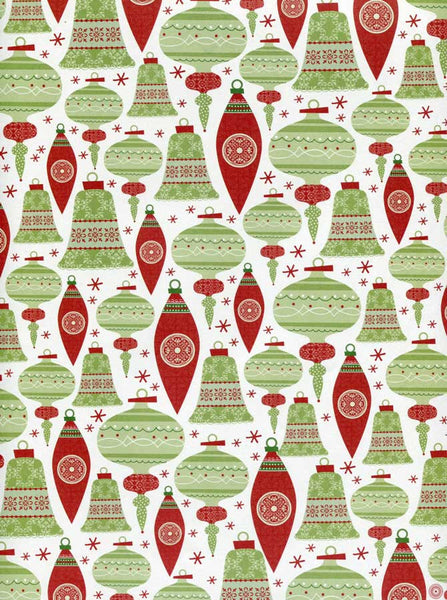 Christmas Ornaments Photography Backdrop - 8098 - Backdrop Outlet