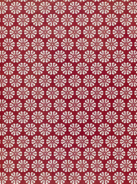8137 Printed Maroon Flower Backdrop - Backdrop Outlet