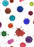 Water Color Splats Backdrop - 8147 - Backdrop Outlet