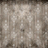 844 Damask Taupe Gray Backdrop - Backdrop Outlet