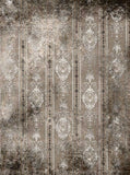 844 Damask Taupe Gray Backdrop - Backdrop Outlet - 3