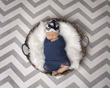 Printed Grey Chevron Photography Backdrop - 9058 - Backdrop Outlet