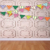 Tile Wall Banner Flags Backdrop - 9076 - Backdrop Outlet