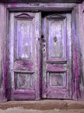 Purple Doors Backdrop - 9141 - Backdrop Outlet