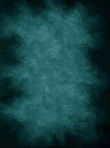 9376  Printed Old Masters Teal Backdrop - Backdrop Outlet